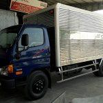 Xe Tải Hyundai HD800 Thùng Kín