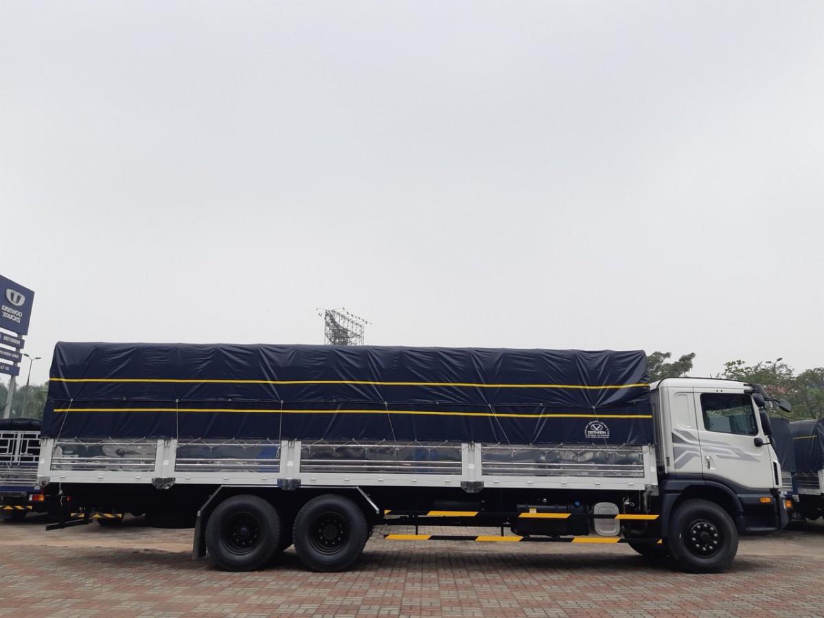 Xe Tải Daewoo 15 tấn HU8AA thùng dài 9.2m EU 4