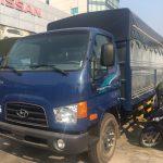 Hyundai 110SP thùng bạt7 Tấn 2022 Thùng dài 5 mét